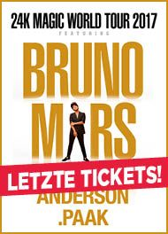 Bruno Mars - The 24K Magic World Tour