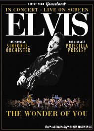 ELVIS IN CONCERT 2017 - The Wonder of You