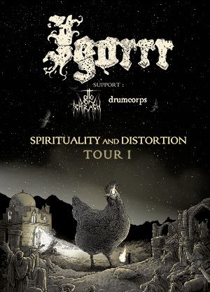 Igorrr - Spirituality & Distortion Tour 2021