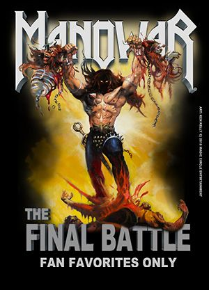 MANOWAR - The Final Battle World Tour 2019